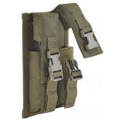DEFCON 5 DOUBLE MAGAZINE POUCH MP-5 MAGAZINE 9MM
