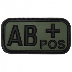BLOOD TYPE PATCH   ΑB+   (PVC OD)