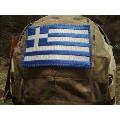 HGH ΕΛΛΑΣ PATCH FOR HELMET-PLATE CARRIER