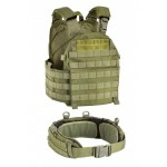 DEFCON 5 VEST CARRIER and MOLLE COMBAT BELT
