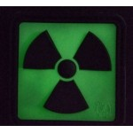 "HGH PVC PATCH ""RADIOACTIVE"" Fluorescent"