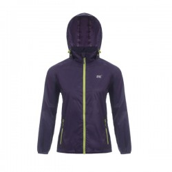 MAC IN SAC ORIGIN WATERPROOF-WINDPROOF JACKET GRAPE
