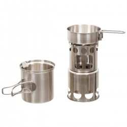 FOX OUTDOORS COOK SET Stainless Steel