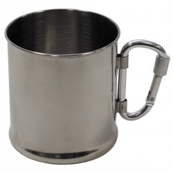 FOX OUTDOORS STAINLESS STEEL 220ML CUP