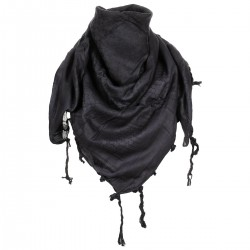 MFH SHEMAGH SCARF BLACK/COYOTE TAN
