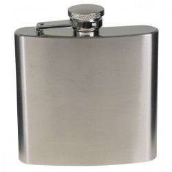 MFH HIP FLASK 170 ml crome matt