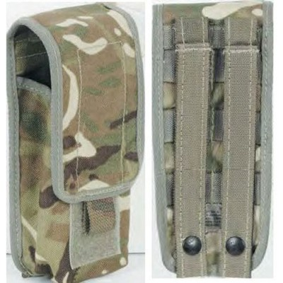 GB  MTP CAMO  2X5.56mm/1X7.62mm MAGAZINE POUCH USED