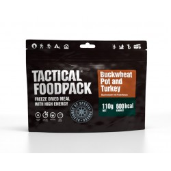 TACTICAL FOOD Buckwheat Pot and Turkey