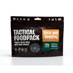 TACTICAL FOODPACK Rice and Veggies